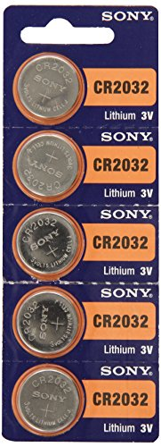 Sony CR2032 3V Lithium Cell Battery (5Pcs per Pack)