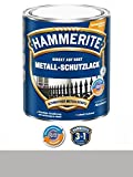 750 ml Hammerite Direkt auf Rost Metall-Schutzlack Silber, Glanz