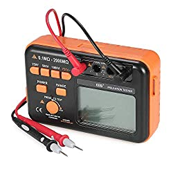 ZYL-YL Digital Resistance Tester, Insulation Megohmmeter Meter for Motor Housing Insulation Test, Output Dc Voltage Multimeter Test, Electrical Insulation Test