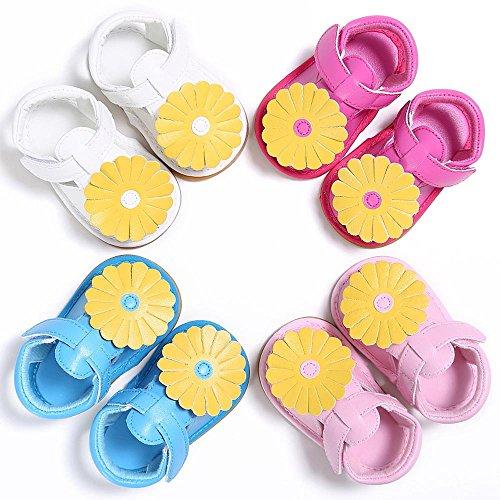 Yogogo Bébé Enfants Design de tournesol Toddler Soft Sole Chaussures