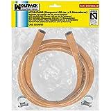 Wolfpack 5050310 - Kit Butano (manguera 1,5 metros con 2 abrazaderas)