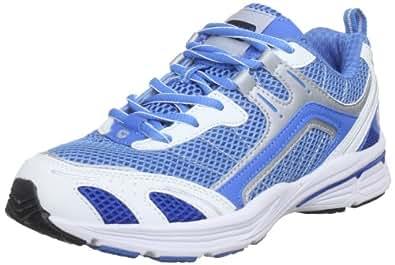 Hi-Tec Dash, Chaussures de fitness femme - Bleu - Sky Blue/Dark Blue/White, 36 (4 UK)