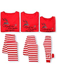 Pijamas a juego para la familia Pijamas de Navidad Set Dad Mom Kid Homewear Nightwear