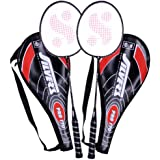 Silver's Pro-170 2 Racquets with Cover Badminton Racquet