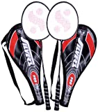 #8: Silver's Pro-170 2 Racquets with Cover Badminton Racquet