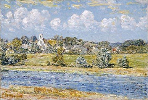Das Museum Outlet-Landschaft, zu newfields, New Hampshire, 1909-A3Poster