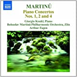 Martinu: Piano Concertos Vol.2 (Piano Concertos 2: Nos. 1/ 2/ 4)