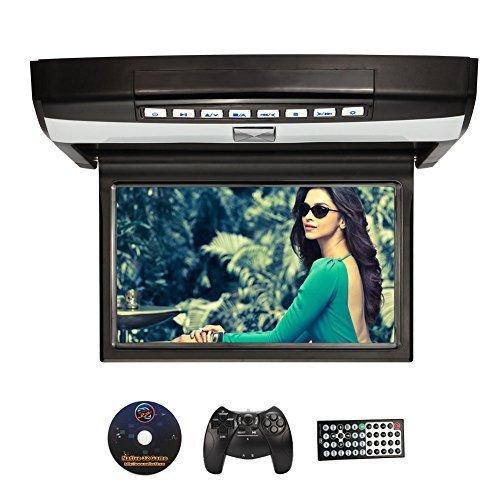 """NAVISKAUTO 10,1"""" Deckenmonitor DVD Player HD Auto Monitor Multimedia TFT LCD Bildschirm Dachinnenbeleuchtung Wireless Controller Fernbedienung Unterstützt USB Sticker/ SD Karte R1001B"""