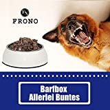 Frostfutter Nordloh Frono Barf Paket: 24 x 500 g Allerlei Buntes, abwechselungsreiches Futter für Hunde und Katzen zum barfen