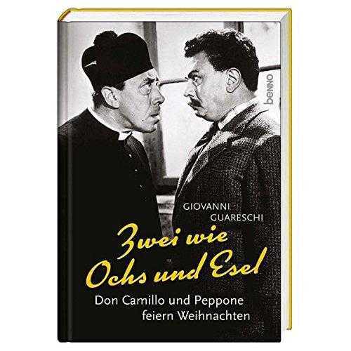 Buchcover Zwei wie Ochs und Esel: Don Camillo und Peppone feiern Weihnachten