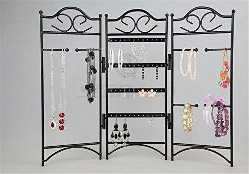 3-panel-Metal-pantalla-soporte-para-joyas–Joyero-de-organizador–clase-percha-ganchos-soporte-de-pared-para-colgar-soporte-para-pendientes-collar-joyera-soporte-rack–precio-Xes