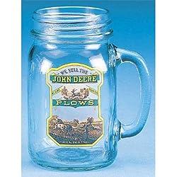 M. CORNELL IMPORTERS 6962 John Deere Plows Drink Jar