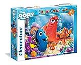 Clementoni 24054 - Puzzle SuperColor Maxi Finding Dory, 24 Pezzi