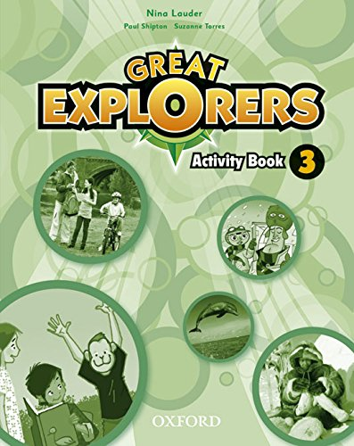 Great Explorers 3: Activity Book - 9780194507417