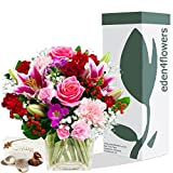 SYMPHONY BOUQUET & CHOCOLATES - Exclusive Bouquets Flowers for Thank you Get Well & Birthday by Eden4flowers