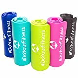 #DoYourFitness Fitnessmatte ideal für Pilates Gymnastik Heimsport und Yoga ab 0,8cm Dicke bis 2cm / Maße 183x61 BZW 190x100 Yogamatte Sportmatte Sportunterlage Gymnastikmatte Pilatesmatte Sharma-grün