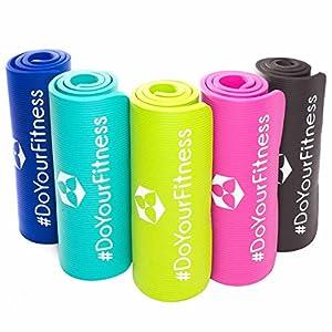 Fitnessmatte ideal für Pilates, Gymnastik, Heimsport und Yoga ab 0,8cm Dicke...