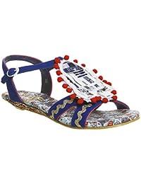 Irregular Choice - Sandalias de vestir de tela para mujer