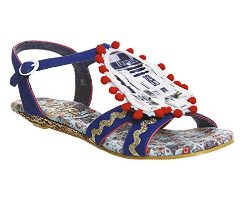 Star Wars by Irregular Choice Sandales Droid Duo 4022-17A Multicolore - Blue Multi