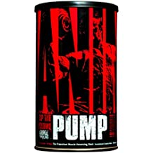 Animal Pump Pre-Entreno Suplemento Creatina con Oxido Nítrico / Pre-Workout Supplement Nitric Oxide and Creatine, 30 Porciones/Servings