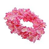 Gazechimp 10er-Set 200cm Künstliche Blumen Girlande Kunstblumen Wand Hängend Dekoration - Rosa