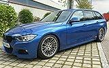 4 X BMW G Power Alufelgen SILVERSTONE Felgen 8,5/9,5 X 18 Zoll 3er F30 F31 4er E90 E91 E92