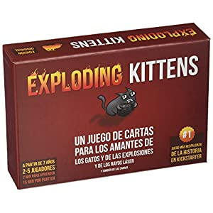 Fantasy Flight Games- Juego de Cartas (Exploding Kittens EKEK0001)