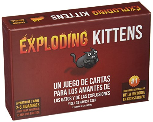 Fantasy Flight Games- Juego Cartas Exploding Kittens