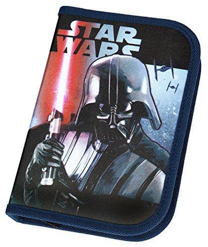 Scooli SWHX0440 - Schüleretui Star Wars mit Stabilo - Markenfüllung, 30 teilig