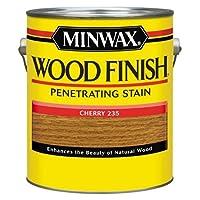 Minwax 71009000 Wood Finish Penetrating Stain, gallon, Cherry