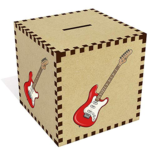 Azeeda Groß \'Elektrische Gitarre\' Sparbüchse / Spardose (MB00076474)