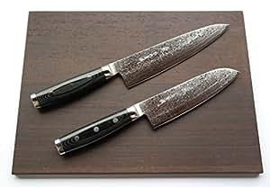 couteau de damas yaxell gou 101 20 cm chef lame de couteau santoku couteau 101 101 couches gou. Black Bedroom Furniture Sets. Home Design Ideas