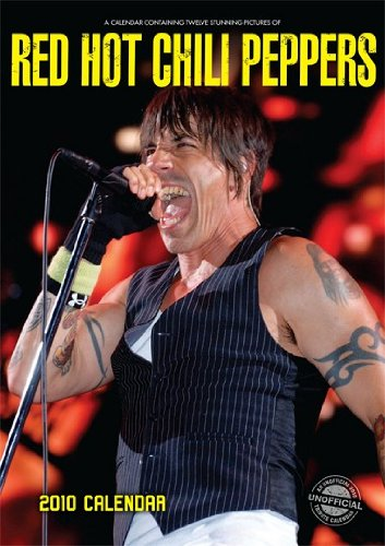 Red Hot Chili Peppers 2010 A3 por Red Star