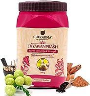 UPAKARMA Ayurveda Chyawanprash with 30 Plus Ayurvedic Herbs to Boost Immunity and Strength - 500g