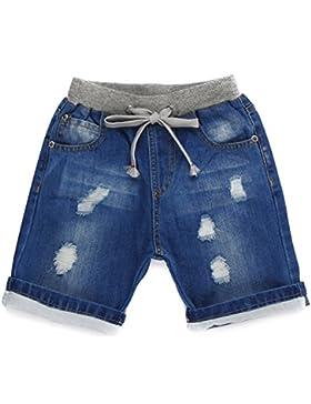 Grandwish Pantalones cortos vaqueros para niño 2 Años - 10 Años