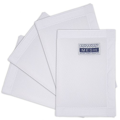 airwrap-4-sided-cot-bumper-alternative-white