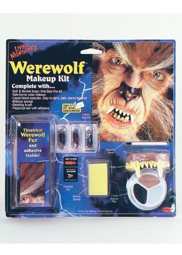 (Struts Fancy Dress Halloween Werwolf Make-Up Kit)
