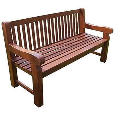 Gartenbank 3-Sitzer 162x69x90cm Holz extra stabil Eukalyptus FSC von sonstige - Gartenmöbel von Du und Dein Garten