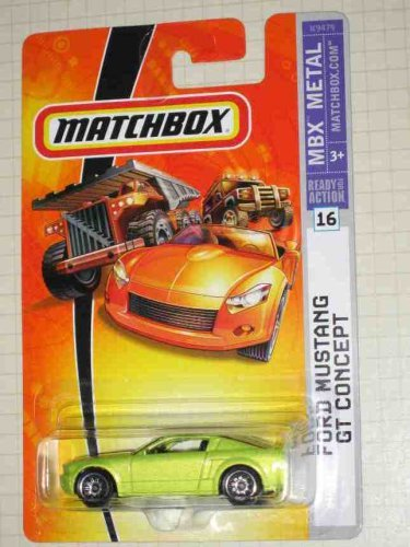 Matchbox 2007 -#16 Ford Mustang GT Concept 1:64 Scale Collectible Die Cast Car Model