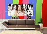 AG Design FTDh 0649 Violetta Disney, Papier Fototapete Kinderzimmer - 202x90 cm - 1 Teil, Papier, Multicolor, 0,1 x 202 x 90 cm