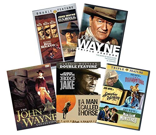 Ultimate John Wayne 25-Movie DVD Collection: Rio Bravo / Cahill / Big Jake / A Man Called Horse / El Dorado / The Shootist / The Sons of Katie Elder / The Telegraph Trail / The Man from Monterrey / So
