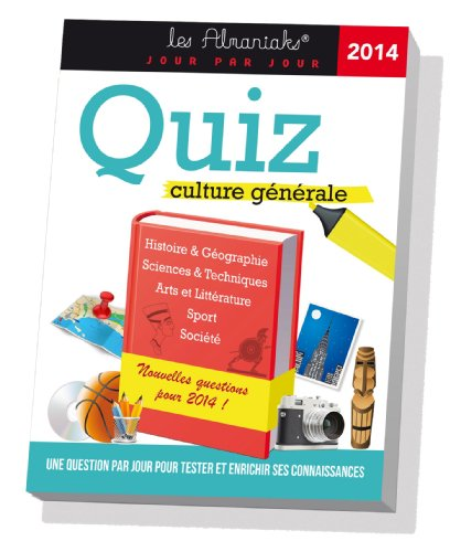 ALMANIAK QUIZ CULTURE GENERALE 2014