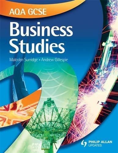 Aqa Gcse Business Studies by Malcolm Surridge (2009-07-15)