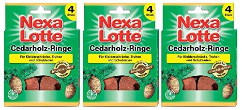 Nexa Lotte Cedarholzringe,