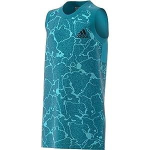 adidas Jungen Yb Id Tank Top Trägerhemd