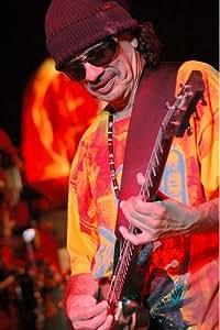 Carlos Santana 91x60cm affiche en couleur