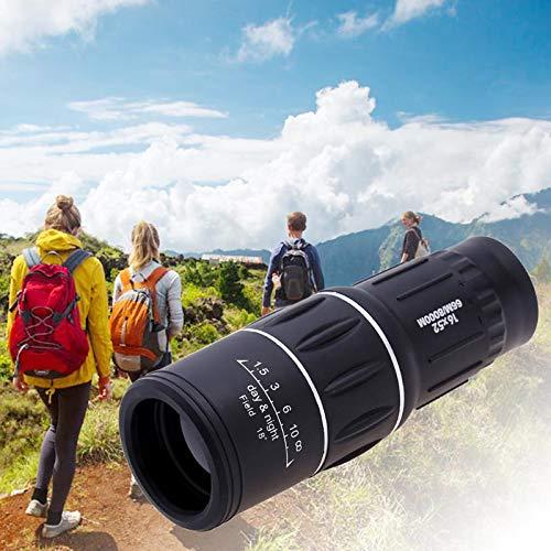 Preisvergleich Produktbild 16 x 52 Outdoor Dual Focus Monocular Teleskop Outdoor Tragbare Ultra Monocular Scope für Jagd Camping Birdwatch