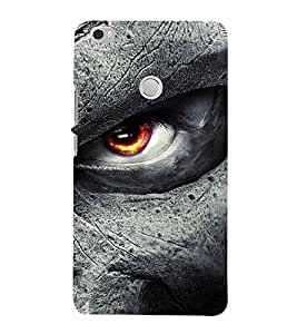 Takkloo eye of a ghost ( comic scene, red eye, Grey face, horror) Printed Designer Back Case Cover for Xiaomi Mi Max :: Xiaomi Mi Max Prime
