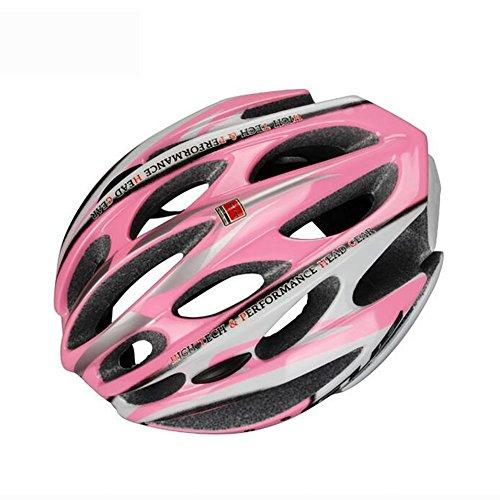 MIAO Fahrrad Helm-Outdoor Radfahren One Forming Schutzhelm Sport Mountain Biking Sport Sicherheit Ausrüstung , pink