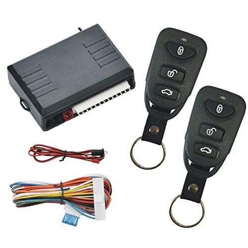 VOOYE Universal Auto Zentralschloss Fahrzeug Keyless Entry System Funk-Fernbedienung Faltschlüssel FB Universal-keyless-entry-system
